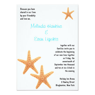 Starfish Reception Invite