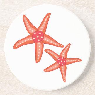 Starfish Sandstone Coaster