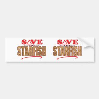 Starfish Save Bumper Sticker