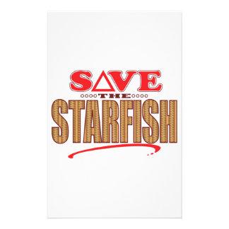 Starfish Save Personalized Stationery