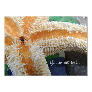 Starfish & Sea Glass Invitation