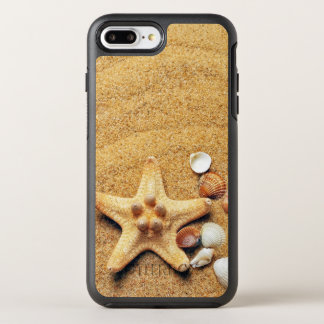Starfish & Sea Shells OtterBox Symmetry iPhone 7 Plus Case