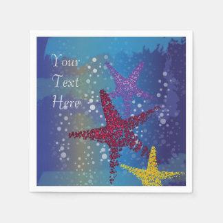 Starfish Seastar Disposable Napkins