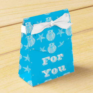 Starfish shell beach shells party favour boxes