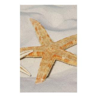 Starfish Stationery Design