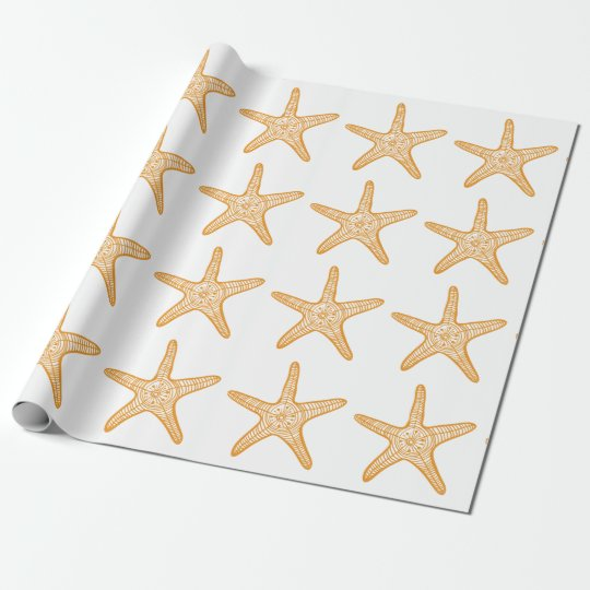 Starfish Story Adoption Party Gift Wrap