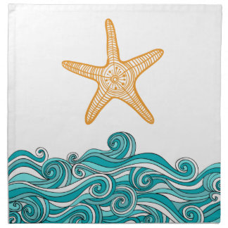 Starfish Story Adoption Party Supplies Napkin