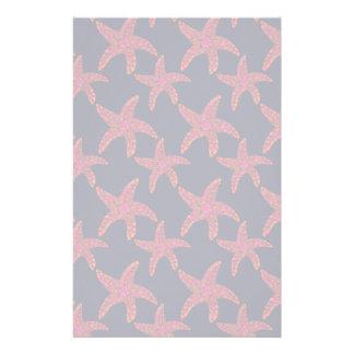 Starfish Style Pattern Customized Stationery