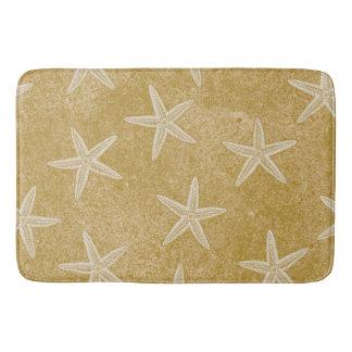 Starfish Tan Sand Bath Mat