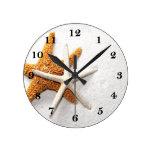 Starfish Wall Clock