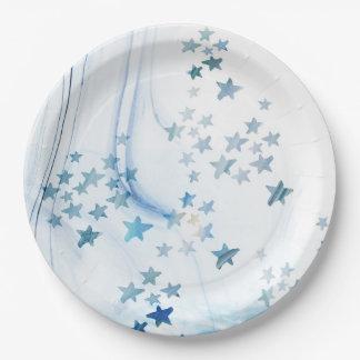Starfishs paper plates