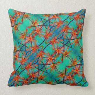 Starflowerz Throw Pillow