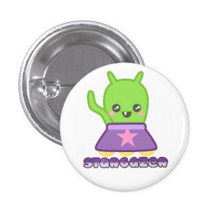 STARGAZER Alien Mini Button