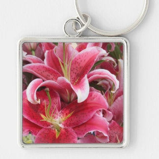 Stargazer Lily Key Ring