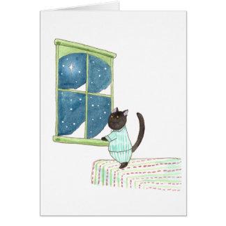 Stargazer Puck Greeting Card