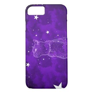 Stargazing cat iPhone 7 case