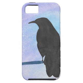 Stargazing Crow iPhone 5 Covers