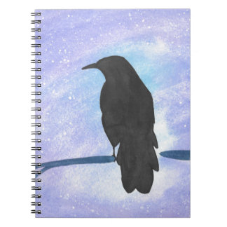 Stargazing Crow Notebook