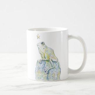 Stargazing Frog Mug