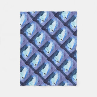Stargazing Kitty Fleece Blanket