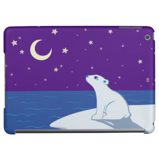 Stargazing Polar Bear Cub Art
