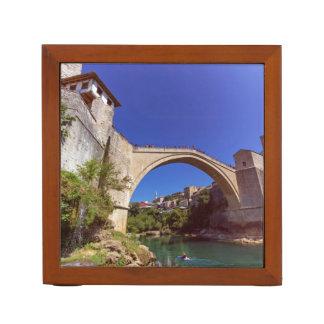 Stari Most, Mostar, Bosnia and Herzegovina Desk Organiser