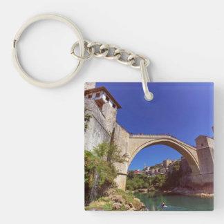Stari Most, Mostar, Bosnia and Herzegovina Key Ring