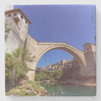 Stari Most, Mostar, Bosnia and Herzegovina Stone Coaster