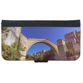 Stari Most, old bridge, Mostar, Bosnia and Herzego iPhone 6 Wallet Case
