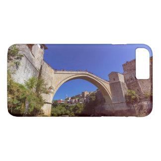 Stari Most, old bridge, Mostar, Bosnia and Herzego iPhone 8 Plus/7 Plus Case