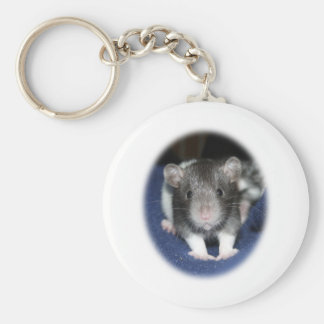 Staring Baby Rat Products Key Ring