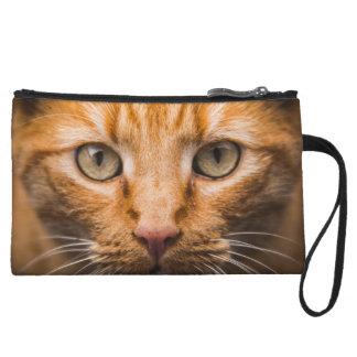 Staring Cat mini clutch bag