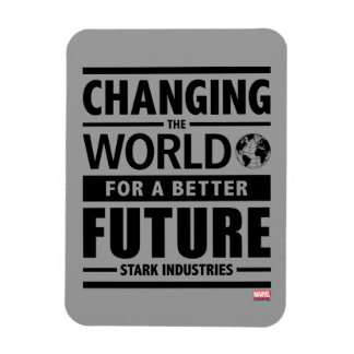 Stark Industries Changing The World Magnet