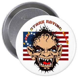 Stark-Raving-Mad-set-1 10 Cm Round Badge