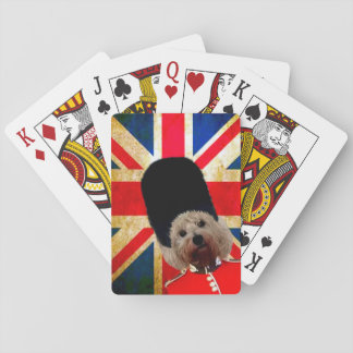 STARLETT THE WESTIE UNION JACK PLAYING CARDS