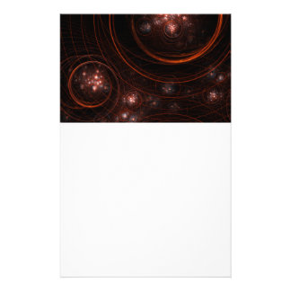 Starlight Abstract Art Stationery