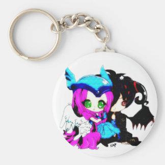Starlight Custom Art Key Ring