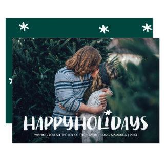 Starlight Holiday Photo Card