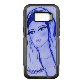 Starlight Mary - Blue - OtterBox Commuter Samsung Galaxy S8+ Case