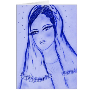 Starlight Mary in Blue Card