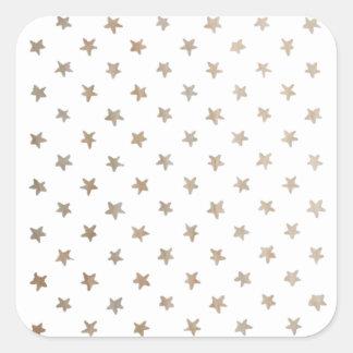 starlight square sticker