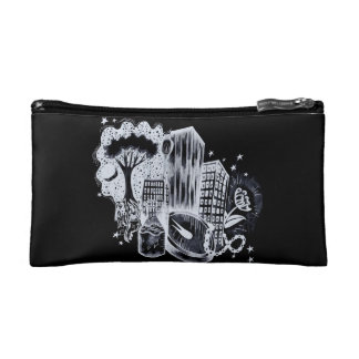 Starlight Two-Tone Cosmetic Bag