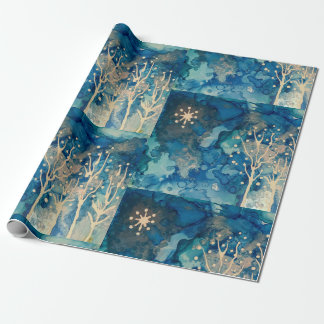 Starlight Winter Wrapping Paper