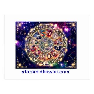 starmap, starseedhawaii.com postcard