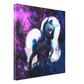 Starmist Unicorn Canvas Print