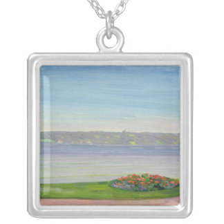 Starnberger See, 1911 Silver Plated Necklace