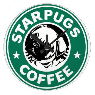 StarPugs Large Clock