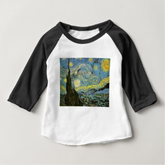 Starred night baby T-Shirt