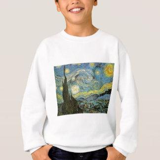 Starred night sweatshirt