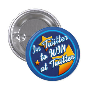 Starred Twitter Idol 3 Cm Round Badge